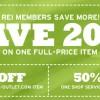 Rei Members Save 2011