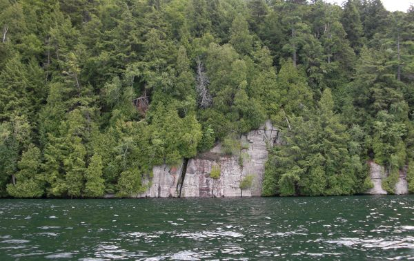 One of the cliffs that make up Pulpit Rock
