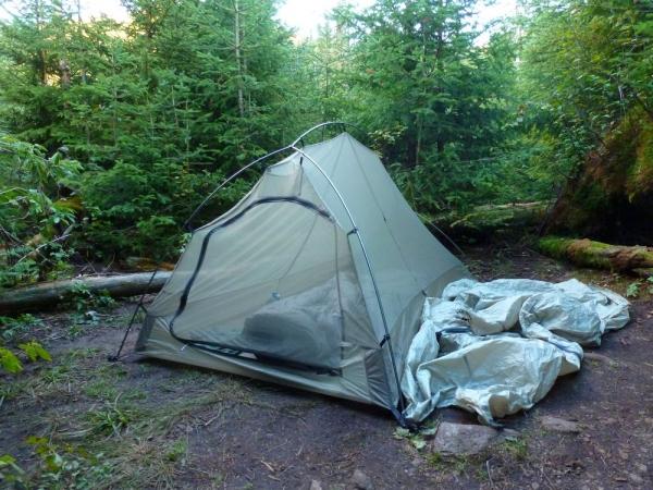 Tent at Feldspar