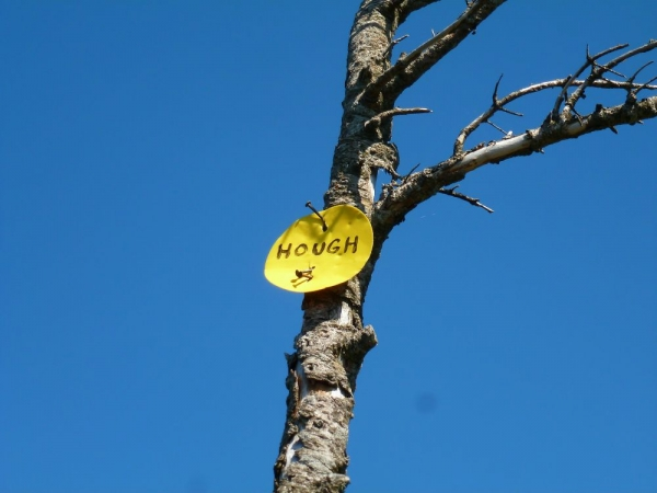 Hough Summit Marker