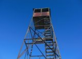 Hurricane Mountain Fire Tower