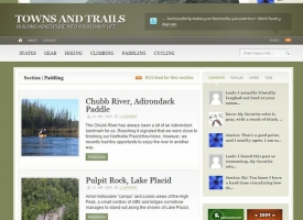 Towns and Trails new Design